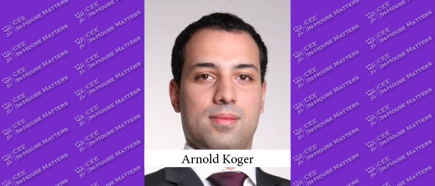 Arnold Koger Becomes Head of Legal at Novartis