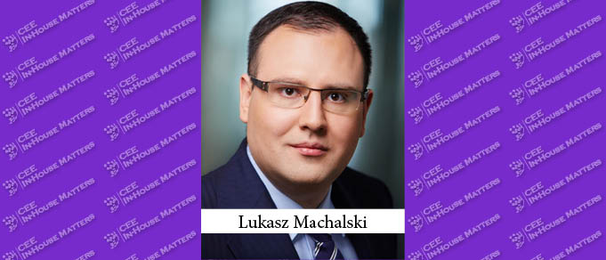Lukasz Machalski Becomes Deputy Director of Legal at Polish Financial Supervision Authority