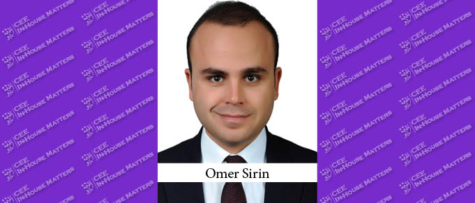 Omer Sirin Promoted as Head of Legal at Credit Europe Bank