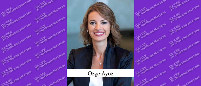 Turkish lawyer Ozge Ayoz has moved to Sao Paolo to take on the role of VP P&G Brazil Legal.