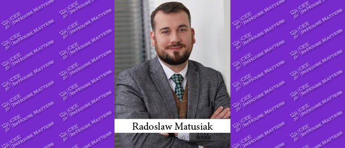 Radoslaw Matusiak Joins Orpea Polska as Head of Legal
