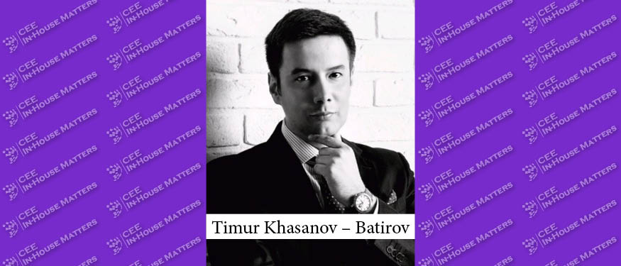 The In-house Buzz: Interview with Timur Khasanov-Batirov of the STADA Group